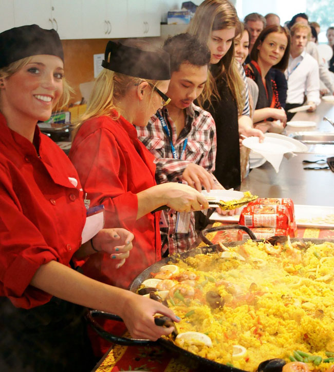 Eventcatering spaanse feest